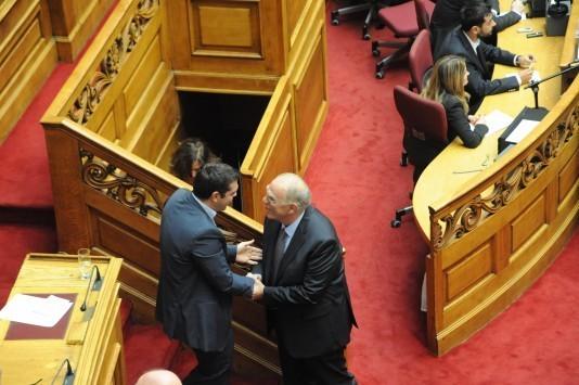 Τα παράξενα της εκλογής νέου προέδρου της Βουλής – Ο Λεβέντης συγκίνησε τον Τσίπρα και η Κεφαλογιάννη που έκανε... αποκαλύψεις