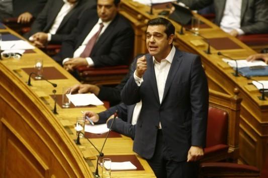 Βουλή Live: Αλέξης Τσίπρας: Δεν πήρα ποτέ τηλέφωνο καναλάρχη ή εκδότη να κάνω παράπονα