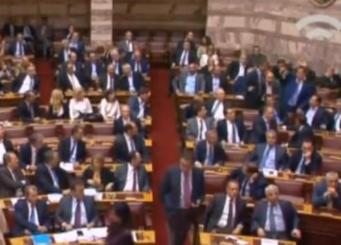 Ξεχάστηκε ο Άδωνις στην ψηφοφορία - Τον σκούντηξε ο Μεϊμαράκης - ΒΙΝΤΕΟ