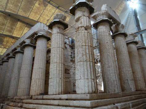 Συνταξιοδοτείται ο φύλακας και κλείνει ο Ναός του Επικούρειου Απόλλωνα!