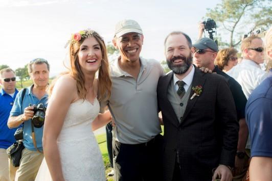 Όταν ο Ομπάμα εμφανίστηκε... ακάλεστος σε γάμο! (ΦΩΤΟ, VIDEO)