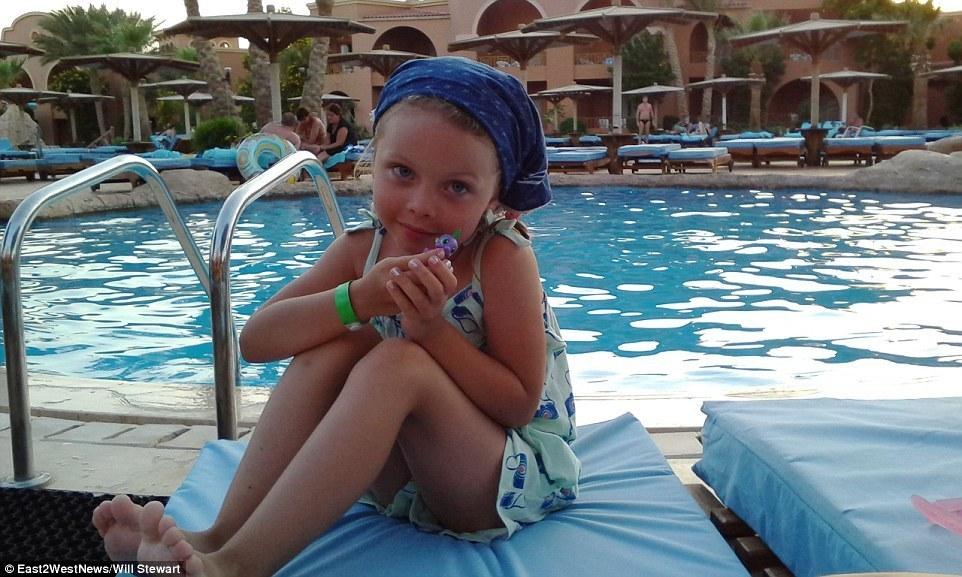Η μικρή Alena Moiseeva, ένα από 17 παιδιά που χάθηκαν στο Σινά