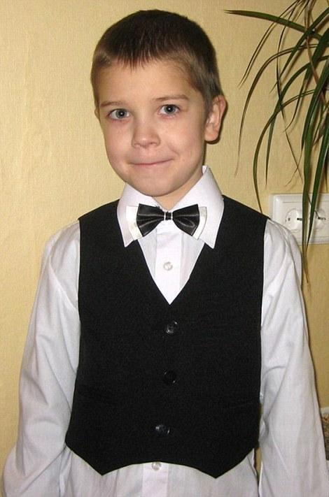 Ο μικρός Anton Bogdanov