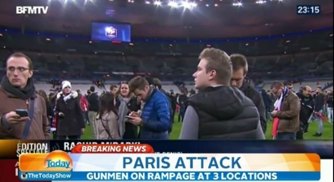 Παρίσι: Λίγο μετά τις εκρήξεις στο Stade De France! ΦΩΤΟ