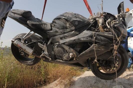 Εύβοια: Η οδύσσεια τραυματισμένου οδηγού μηχανής ξεκίνησε μετά το τροχαίο ατύχημα!
