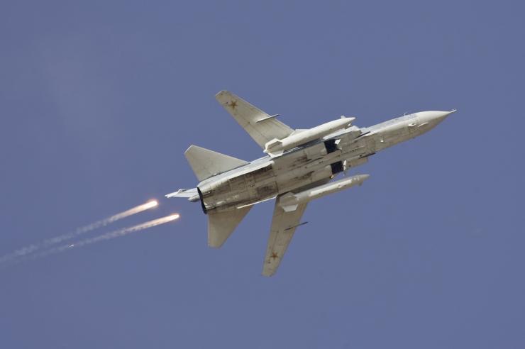 Αεροσκάφος τύπου Su24 πανομοιότυπο με αυτό που καταρρίφθηκε