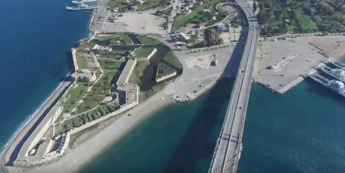Η γέφυρα Ρίου – Αντιρρίου από ψηλά! (ΒΙΝΤΕΟ)