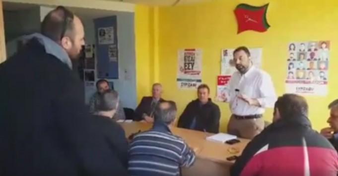 Αγρότες `μπούκαραν` στα γραφεία του ΣΥΡΙΖΑ στη Σπάρτη - Τα... άκουσε ο Αραχωβίτης: `Ήσουν η ελπίδα μας` (ΒΙΝΤΕΟ)
