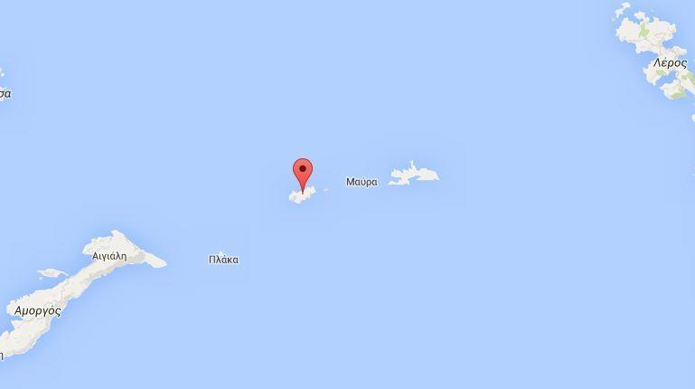 Στη νήσο Κίναρο εντοπίστηκαν τα συντρίμμια του ελικοπτέρου του Πολεμικού Ναυτικού