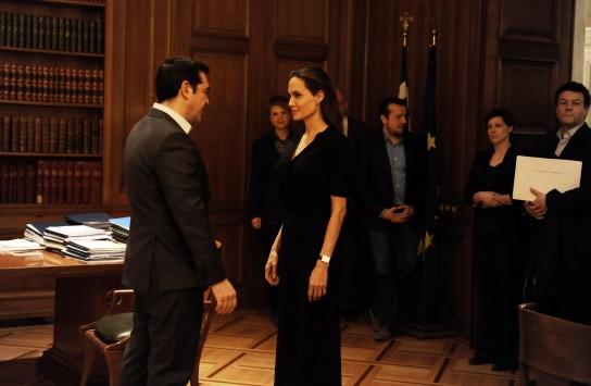 Live - Αντζελίνα Τζολί: Ολοκληρώθηκε η συνάντηση του Αλέξη Τσίπρα με την Αντζελίνα Τζολί - Φεύγει αμέσως για Θεσσαλονίκη