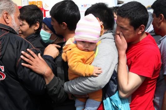 Πλοίο με 1433 πρόσφυγες αναμένεται στην Ελευσίνα