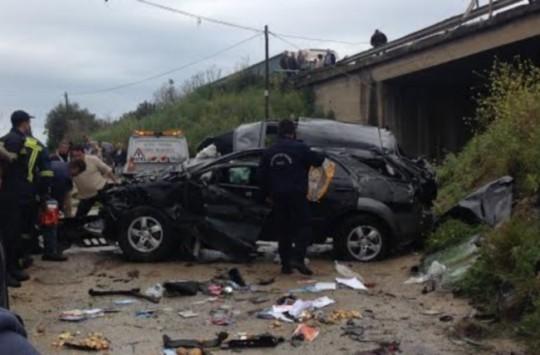 Αποτέλεσμα εικόνας για δυστύχημα στην Εθνική