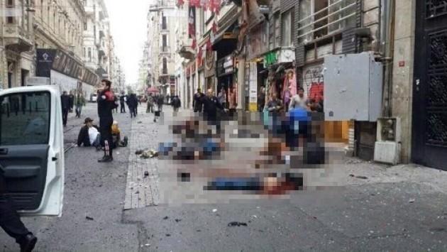 LIVE - Νέο μακελειό στην Κωνσταντινούπολη! Καμικάζι σκόρπισε το θάνατο στην πλατεία Ταξίμ! Συγκλονιστικές εικόνες