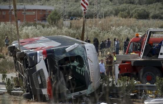 Τροχαίο στην Ισπανία: 13 φοιτητές νεκροί – ΥΠΕΞ: Καμία πληροφορία για Έλληνες ανάμεσα στα θύματα