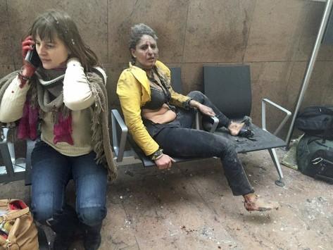 Επιθέσεις στις Βρυξέλλες: Καρέ καρέ το αιματοκύλισμα - Οι εικόνες που στοιχειώνουν την Ευρώπη