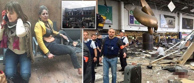 Live: Επίθεση στις Βρυξέλλες - Πρωθυπουργός Βελγίου: Φοβάμαι για νέες επιθέσεις! - Δεκάδες νεκροί από τις εκρήξεις σε μετρό και αεροδρόμιο!