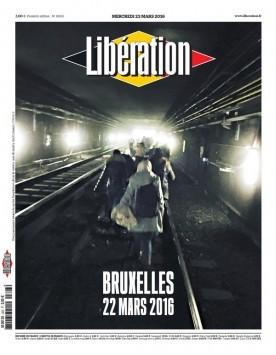 Βρυξέλλες: Το συγκλονιστικό πρωτοσέλιδο της Liberation