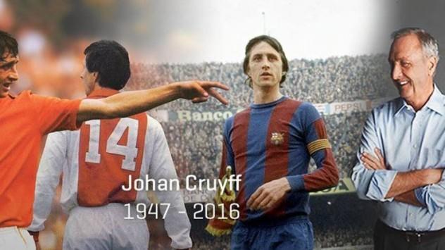 Πέθανε ο Γιόχαν Κρόιφ - Βυθίστηκε στη θλίψη ο παγκόσμιος αθλητισμός