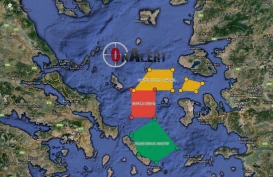 Η Τουρκία δέσμευσε περιοχές ασκήσεων στο Αιγαίο μέχρι τον Ιούνιο - Γιατί το ανέχεται η Αθήνα; Διαδραστικός ΧΑΡΤΗΣ