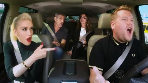 Απίστευτο καραόκε με Gwen Stefani, George Clooney και Julia Roberts! (BΙΝΤΕΟ)