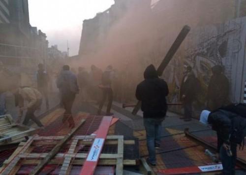 Χάος στη Γαλλία! `Απαγόρευση κυκλοφορίας` στη Ρεν! (ΦΩΤΟ, VIDEO)