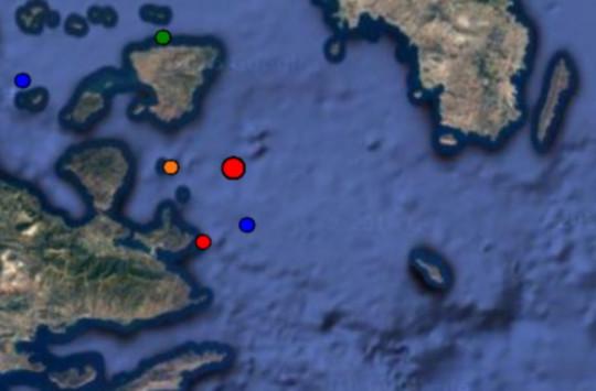 Σεισμός στην Αίγινα - Μόλις στα 5 χιλιόμετρα το εστιακό του βάθος!