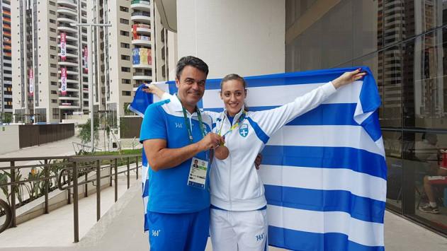 Ολυμπιακοί Αγώνες 2016: Συγκίνηση και χειροκροτήματα για την Άννα! Η υποδοχή της Κορακάκη μετά το χάλκινο [pics, vid]