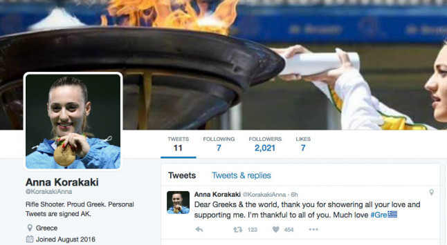 Άννα Κορακάκη: Οργισμένη ανάρτηση από την Ολυμπιονίκη για το ψεύτικο προφίλ που δημιούργησαν στο twitter