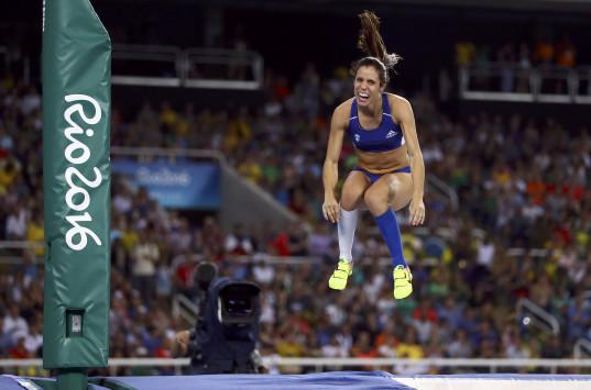 Κατερίνα Στεφανίδη - επί κοντώ: Χρυσό το κορίτσι μας! Συγκλονιστικός τελικός