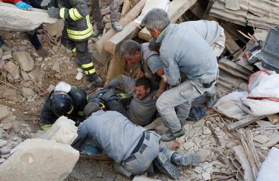 Σεισμός στην Ιταλία: 6,2 Ρίχτερ ισοπέδωσαν ένα ολόκληρο χωριό!