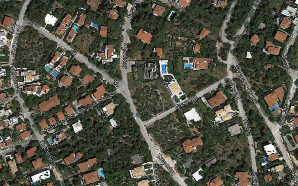 Χάρτης από την ευρύτερη περιοχή