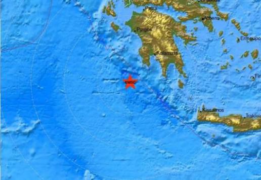 Σεισμός τρακούνησε τη Μεσσηνία