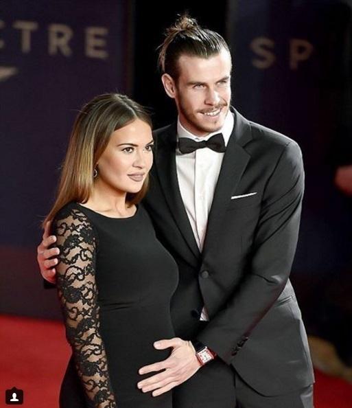 Ο Gareth Bale με την αρραβωνιαστικιά του, Emma Rhys-Jones  / Φωτό instagram: #emmarhysjones