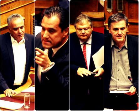 Πολυνομοσχέδιο: `Σκοτωμός` στη Βουλή! `Πολιτικός απατεώνας`, `τρέμεις σαν το ψάρι`, `ελικόπτερο με μπετονιέρα` μερικές από τις... ομορφιές