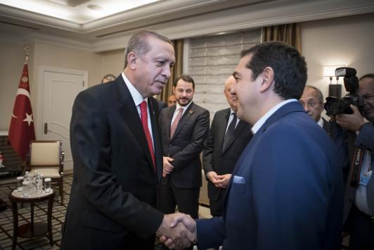 """Η πρώτη απάντηση του Αλέξη Τσίπρα στις προκλήσεις Ερντογάν για το Αιγαίο - """"Είναι επικίνδυνη η αμφισβήτηση της Συνθήκης της Λωζάννης"""""""