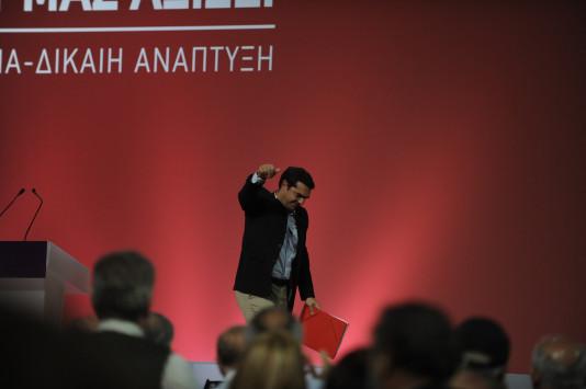 Συνέδριο ΣΥΡΙΖΑ: Με 93,54% επανεξελέγη πρόεδρος ο Τσίπρας – Μόλις 210 σύνεδροι δεν τον ψήφισαν