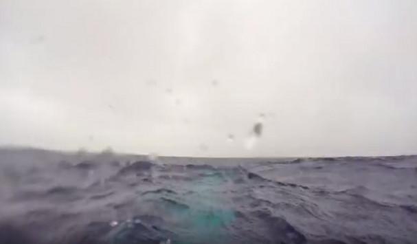 Βρισκόταν κάτω από το βυθό της θάλασσας - Παραλίγο να χάσει τη ζωή του, αλλά στο τέλος τρελάθηκε από τη χαρά του! (vid)