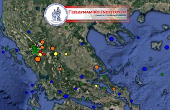 Σεισμός στα Γιάννενα: Δεκάδες μετασεισμοί [pic]