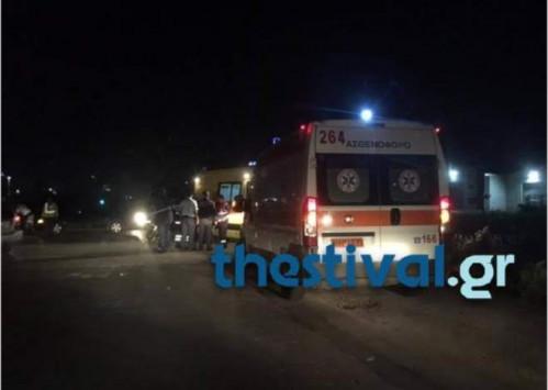 Ωραιόκαστρο: Φρουρούμενος στο νοσοκομείο ο οδηγός που σκότωσε μητέρα και παιδί – Τραυματίστηκαν αστυνομικοί και διασώστες