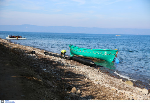 Μηδενικές οι ροές προσφύγων στο Β. Αιγαίο λόγω ανέμων