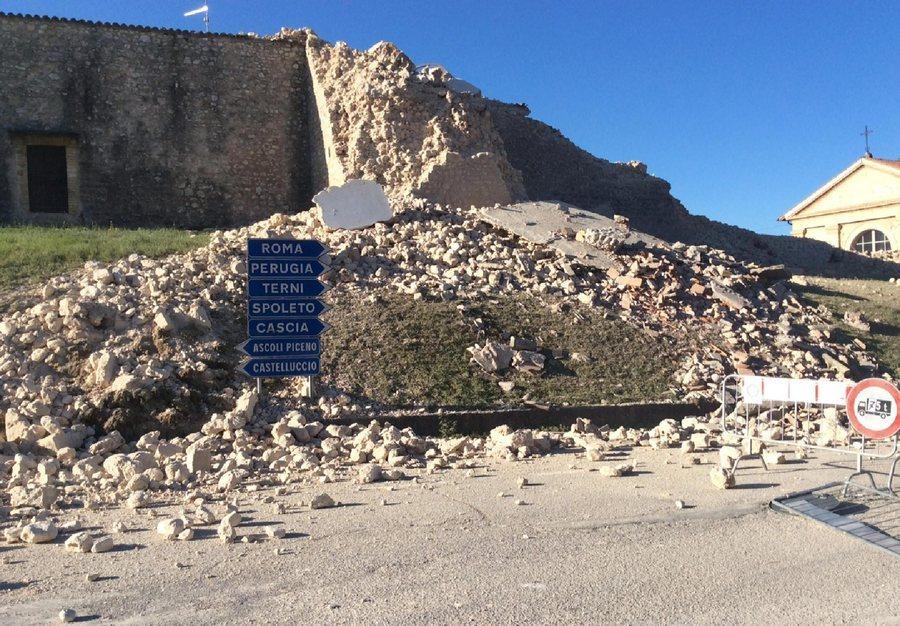 Σε όλες τις κοντινές πόλεις ο σεισμός έγινε αισθητός / Φωτό: ΑΠΕ - ΜΠΕ