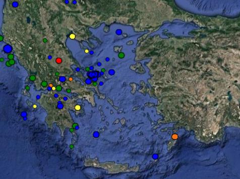 Μεγάλο σεισμό σε δυο περιοχές της Ελλάδας περιμένουν οι σεισμολόγοι