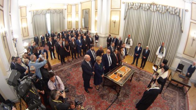 Νέα κυβέρνηση LIVE - Ορκίστηκαν! Το μαύρα ρούχα της Γεροβασίλη - Τα αστεία του Καμμένου και ο σοβαρός Τσίπρας