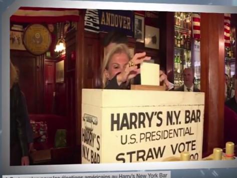 Εκλογές ΗΠΑ 2016: Μπαρ στο Παρίσι... ξέρει τον νικητή! [vid]