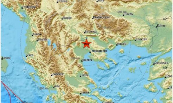 Σεισμός ΤΩΡΑ στο Κιλκίς, `κουνήθηκε` η Θεσσαλονίκη