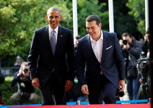 Ομπάμα: Θα τον καλέσει ο Τσίπρας για... μπασκετάκι;