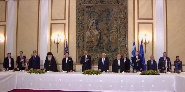 Ο Ομπάμα στην Αθήνα LIVE – Παυλόπουλος σε Ομπάμα: Μην λησμονάτε τη χώρα μας