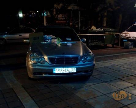 Θεσσαλονίκη: ''Τιμωρία'' οδηγού για το παρκάρισμα που έκανε - Δείτε πως βρήκε το αυτοκίνητό του [pics]