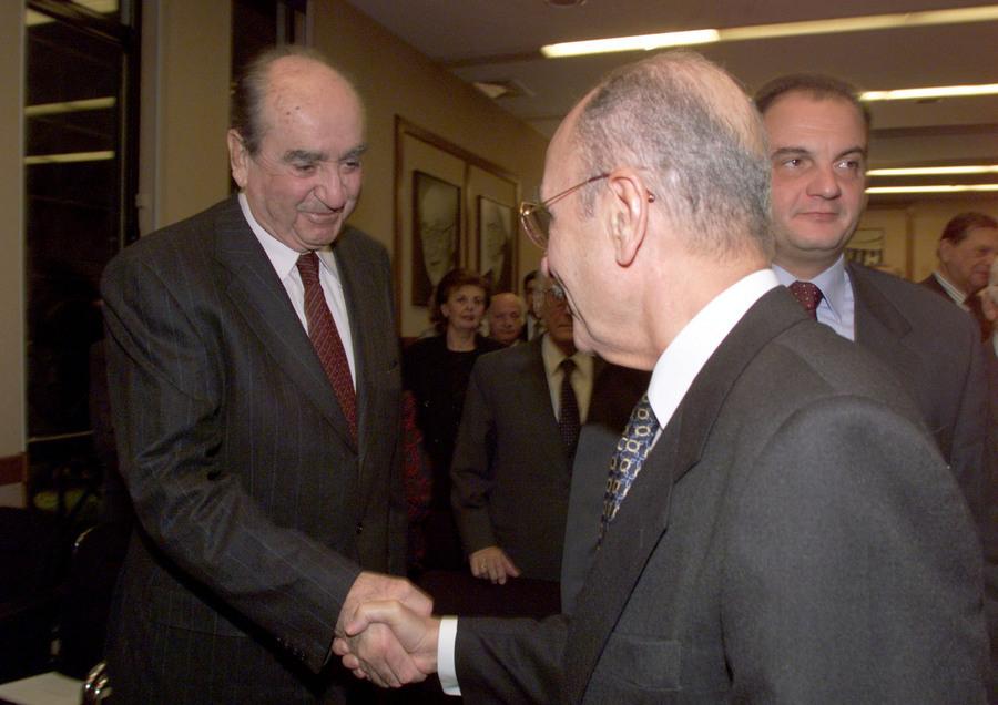Με τον Κωνσταντίνο Μητσοτάκη