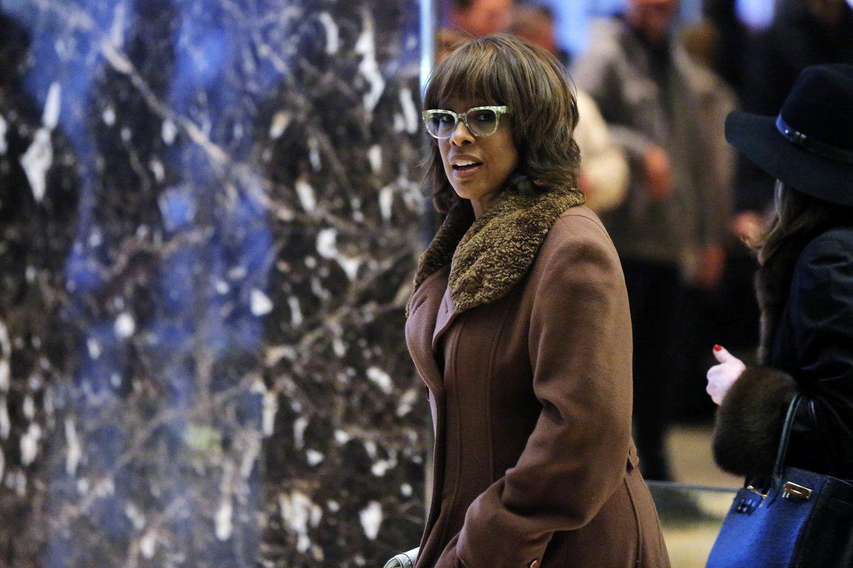 Η παρουσιάστρια του CBS Gayle King